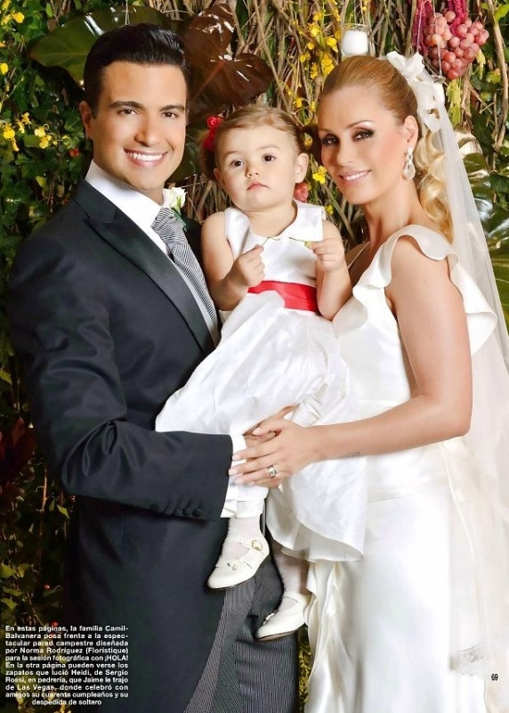 The gallery for --> Jaime Camil Boda